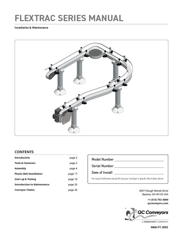 Flextrac Series Manual